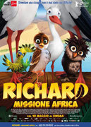 Locandina RICHARD - MISSIONE AFRICA (UBERFLIEGER - KLEINE VOGEL, GROSSES GEKLAPPER) (RICHARD THE STORK)