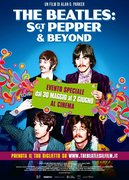 Locandina THE BEATLES - SGT. PEPPER AND BEYOND (IT WAS FIFTY YEARS AGO TODAY THE BEATLES