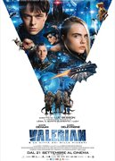 Locandina VALERIAN E LA CITTA' DEI MILLE PIANETI (VALERIAN AND THE CITY OF A THOUSAND PLANETS)