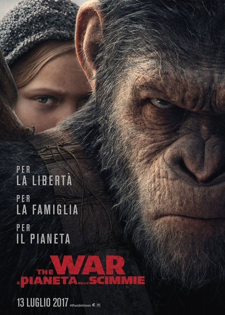 THE WAR - IL PIANETA DELLE SCIMMIE (WAR FOR THE PLANET OF THE APES)
